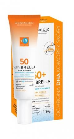 SPF 50 солнцезащитный крем IR защита от инфракрасного излучения Дермедик Sunbrella Protective Cream SPF 50 Dermedic