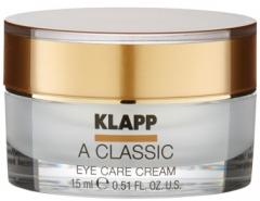 Крем-уход для кожи вокруг глаз с витамином А Клапп A Classic Eye Care Cream Klapp