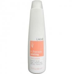 Шампунь против перхоти для сухих волос Лакме K.Therapy Peeling Shampoo Lakme