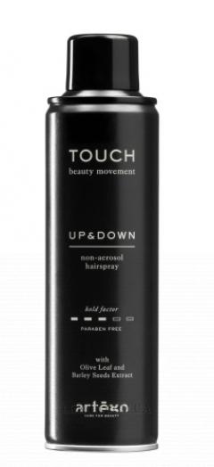 Лак для волос средней фиксации без газа Артэго Touch Up and Down Artego