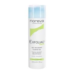 Очищающий пенящийся гель с AHA Эксфолиак Foaming gel Exfoliac