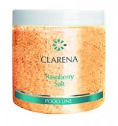 Малиновая соль для педикюрных ванночек Кларена Raspberry Salt  Clarena