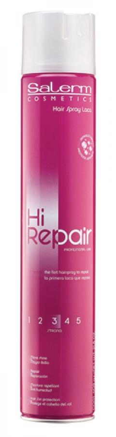 Лак для волос сильной фиксации Салерм LACA HI-REPAIR Salerm