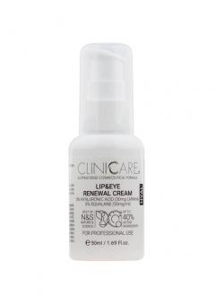 Восстанавливающий крем для губ и глаз Клиникеэ HYAL Lip & Eye Renewal Cream Clinicare