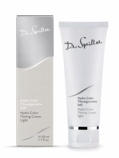 Увлажняющий тональный крем, светлый и темный Доктор Шпиллер Hydro Color Tinting Cream Dr Spiller Biocosmetic