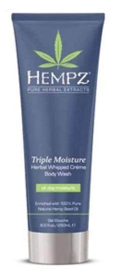 Нежный увлажняющий крем-гель для душа тройного действия Хемпз Triple Moisture Body Wash Hempz