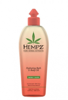 "Увлажняющее масло для ванны и тела ""Ананас-Дыня"" Хемпз Hydrating Bath & Body Oil Hempz"