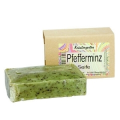"Натуральное мыло ""Мята"" Стикс Натуркосметик Natural Soap ""Mint"" Styx Naturcosmetic"
