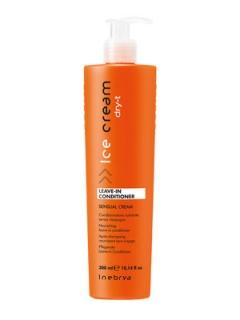 Несмываемый кондиционер для сухих волос Инебрия Ice Cream Dry-T Leave-In Conditioner Inebrya