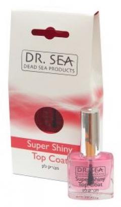 Верхнее покрытие для придания глянцевого блеска Доктор Си Super Shiny Dr. Sea