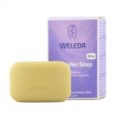Лавандовое растительное мыло Веледа Lavender-Soap Weleda