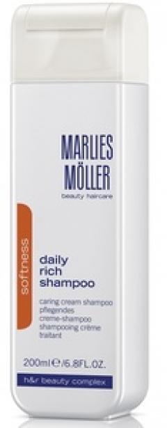 Ежедневный питательный шампунь Марлис Мёллер Daily Rich Shampoo Marlies Moller