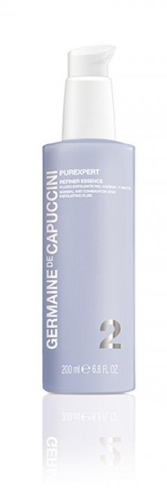 Флюид-эксфолиант для нормальной и комбинированной кожи Жермен де Капуччини Purexpert Refiner Essence Normal Skin Germaine de Capuccini