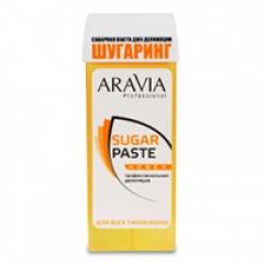 """Сахарная паста для депиляции в картридже """"Медовая"""" очень мягкой консистенции Аравия Профешнл Aravia Professional"""
