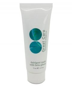 Маска поросуживающая с бета-глюканом Astrigent Mask with beta-glucan Great Care