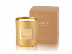 Ароматическая свеча Ваниль Аттиранс Aromatic Vanilla Glass Candle Attirance