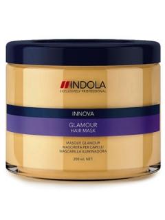 Маска для гладкости и блеска Индола Innova Glamour Hair Mask Indola