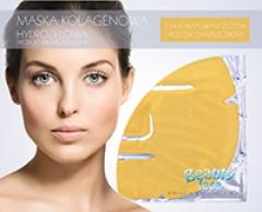 Маска коллагеновая с 24-каратным золотом и гиалуроновой кислотой против морщин Бьюти Фейc Kolagen Maska z 24-karatowym zlotem Beauty face