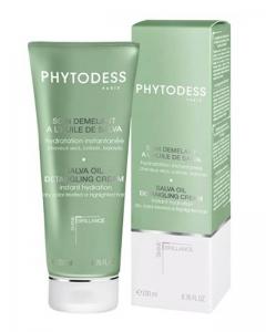 Увлажняющая маска для волос с экстрактом шалфея для сухих, окрашенных, мелированных и тонких волос Фитодесс Salva Oil Detangling Cream Phytodess