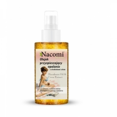 Масло Для Ускорения Загара С Кусочками Золота Накоми Accelerating Tanning Oil With Gold Pieces Nacomi
