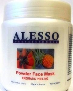 Энзимный пилинг - порошкообразная маска для лица Алессо Enzyme Peeling - powdered face mask Alesso