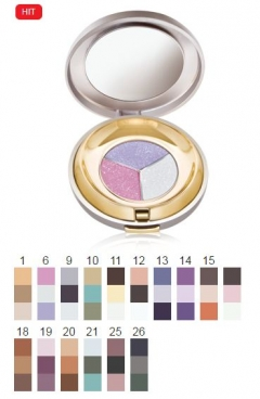 "Тени ""Трио"" Кинвел TRIO COMPACT EYE SHADOW Keenwell"
