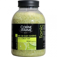 "Соль морская для ванн ""Лайм"" Корин Де Фарм Sea salt bath ""Lime"" Corine de Farme"