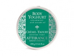 Йогурт для тела Мята Аттиранс Spearmint Body Yogurt Attirance