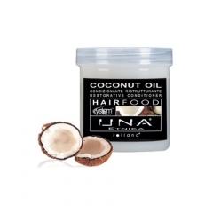 Маска для восстановления структуры волос Масло кокоса Роланд UNA Hair Food Coconut Oil Restorative Conditioner Rolland