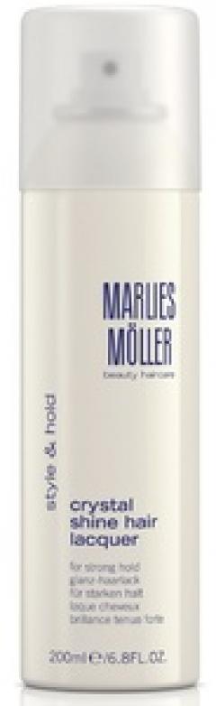 Лак для волос кристальный блеск Марлис Мёллер Crystal Shine Hair Lacquer Marlies Moller