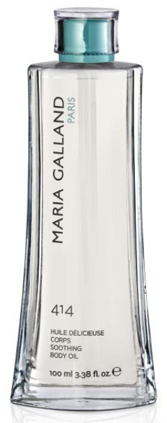 Успокаивающее масло для тела Мария Галланд Huile Delicieuse Corps № 414 Maria Galland