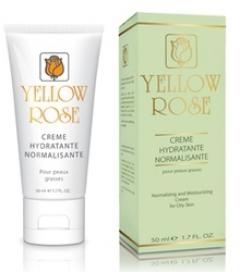 Крем увлажняющий для жирной кожи Йелоу Роуз Creme hydratante normalisante Yellow Rose