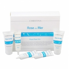 Набор для постпилингового ухода (5 препаратов) Кристина Rose de Mer Post-Peel Kit Christina