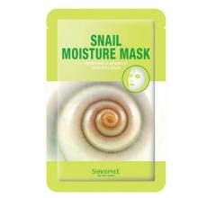 Корейская маска для лица с экстрактом улитки ШангПри Snail Moisture Mask ShangPree