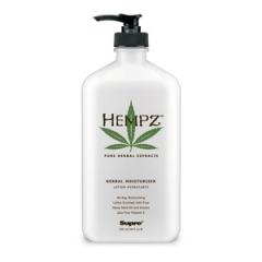 Увлажняющее растительное молочко для тела  Хемпз Herbal Moisturizer Hempz