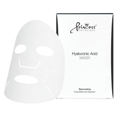 Маска для лица на нетканой основе с гиалуроновой кислотой Принцесс FACE MASK WITH HYALURONIC ACID Princess