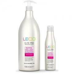 Шампунь «Дополнительный объем и блеск Леко Shampoo Extra volume and shine Leco