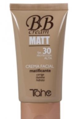 Матирующий крем для лица Тахе CREAM MATT SPF 30 BB Tahe