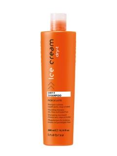 Шампунь для сухих, окрашенных и вьющихся волос Инебрия Ice Cream Dry-T Shampoo Inebrya