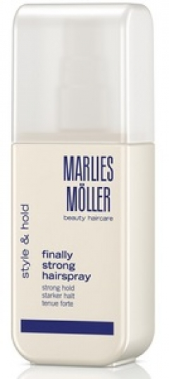 Лак для волос сильной фиксации Марлис Мёллер Finally Strong Hairspray Marlies Moller