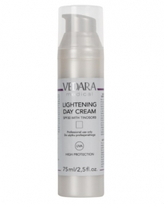 Осветляющий дневной крем SPF 30 с тиносорбом Ведара Lightening Day Cream SPF-30 with Tinosorb  Vedara