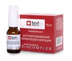 "Био-с «миорелаксант» для разглаживания мимических морщин Тете Biocomplex ""muscle relaxant"" for smoothing facial wrinkles Tete"