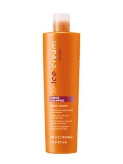 Шампунь для окрашенных и мелированных волос Инебрия Ice Cream Color Shampoo Creme Caramel  Inebrya