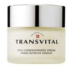 Обогащенный антивозврастной концентрат для кожи лица Трансвитал Rich Concentrated Cream Transvital