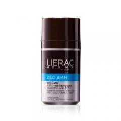 Дезодорант 24 часа защиты для мужчин Лиерак Non stop freshness antiperspirant roll on Lierac