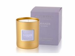 Ароматическая свеча Лаванда Аттиранс Aromatic Lavender Glass Candle Attirance