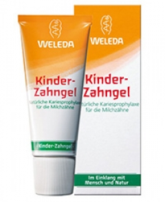 Зубной гель для детей Веледа Kinder Zahngel Weleda