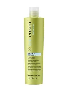 Шампунь для жирной кожи головы Инебрия Ice Cream Balance Shampo Inebrya