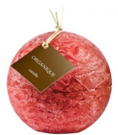 Ароматерапевтическая свеча Смородина, шар Органик Candle Ball Red Currant  Organique
