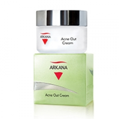 Крем для жирной и комбинированной кожи склонной к высыпаниям Аркана Acne Out Cream Arkana